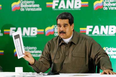 Nicolás Maduro oficializa nuevo salario mínimo