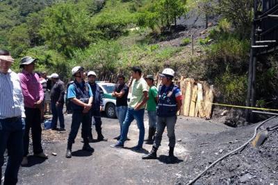 Venezolano murió asfixiado en una mina en Santander