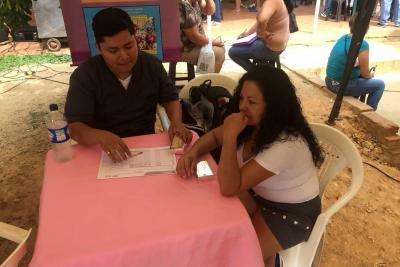 Gironeses reciben una atención médica gratuita
