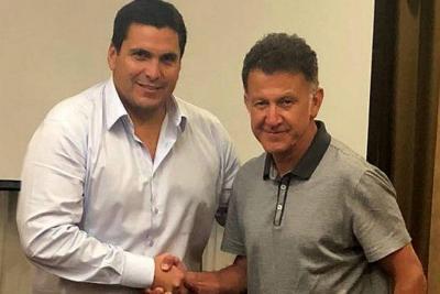 Juan Carlos Osorio, nuevo seleccionador de Paraguay