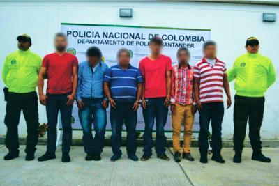Cayó presunta banda que robaba ganado en Santander