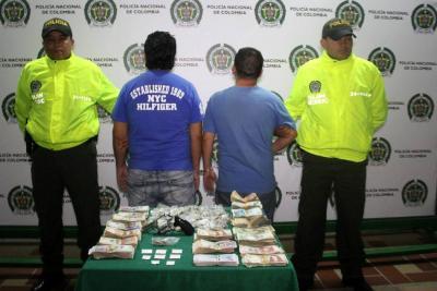 Ganaban al día $28 millones vendiendo alucinógenos en Floridablanca