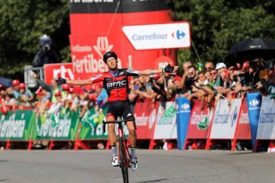 De Marchi se impuso en la etapa 11 y Nairo sigue tercero en la Vuelta a España