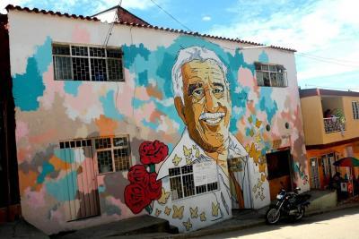 Las 'casitas de colores' que ahora unen a los vecinos de Bucaramanga