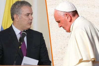 Iván Duque y el Papa Francisco se reunirán en octubre