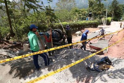 Alcaldía de Piedecuesta recuperó 11,5 kilómetros de vías terciarias