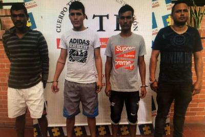 Los cuatro hombres acusados por la Fiscalía de participar en el homicidio del líder de Cantagallo Nixxon Mutis, crimen ocurrido a comienzos de este año, fueron enviados a la cárcel.