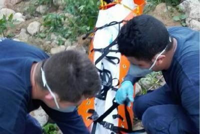 Rescatan cadáver hallado en quebrada de Bucaramanga