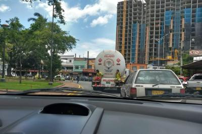 Continúan las imprudencias viales en Bucaramanga