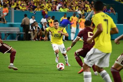 Con buen juego, Colombia venció 2-1 a Venezuela en Estados Unidos en partido amistoso