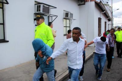 'Los Lobos' fueron enviados a la Cárcel Modelo de Bucaramanga