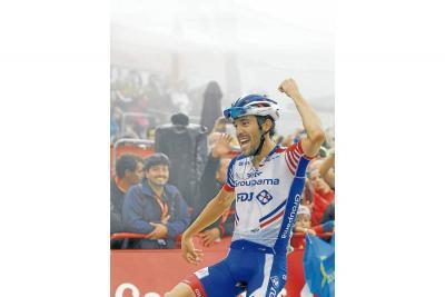 La Vuelta se juega en un puñado de segundos