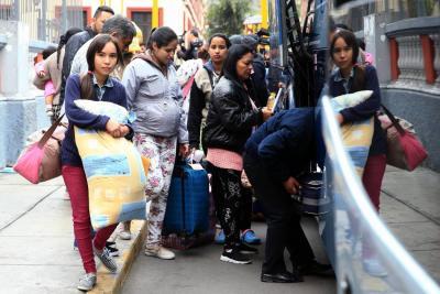 Más de un centenar de venezolanos regresaron a su país, debido a las agresiones en las calles de Brasil.