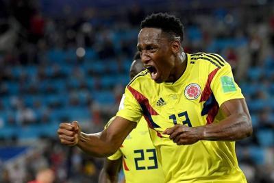 El colombiano Yerry Mina fue nominado al equipo ideal del año Fifa