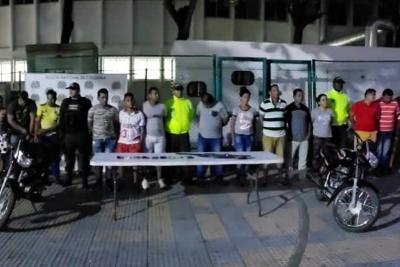 18.600 detenidos durante plan de choque contra la delincuencia en Colombia