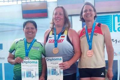 Santandereana fue subcampeona en Mundial de Atletismo en España