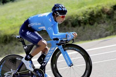 Nairo Quintana descendió al cuarto puesto de la Vuelta a España tras la CRI