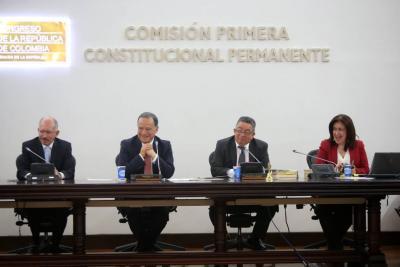 Avanza discusión de nueva reforma para aprobar las curules de víctimas
