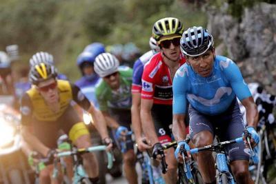 'Superman' López ascendió al cuarto lugar de la general de la Vuelta a España