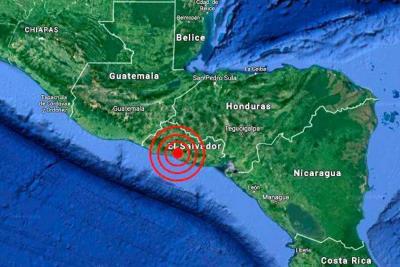 Dos sismos sacuden a El Salvador, sin víctimas ni daños