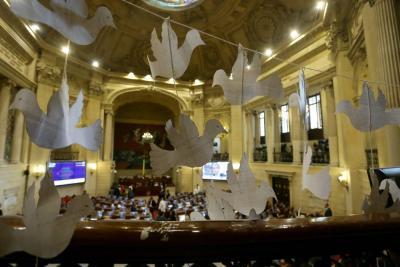 Creación de curules de paz fue aprobada en el primero de ocho debates