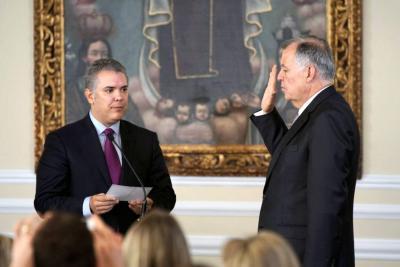 Iván Duque pidió a Alejandro Ordóñez generar protección a migrantes venezolanos
