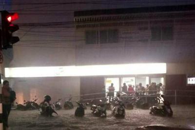 Emergencia en el casco urbano de Apartadó, por fuertes lluvias