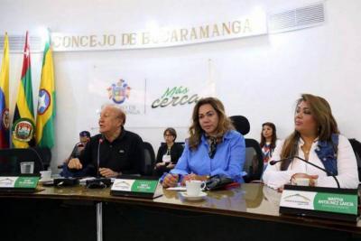 Así ha sido el rifirrafe entre el Concejo y el Alcalde de Bucaramanga