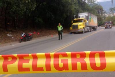Falleció motoclista tras accidente que involucró a tres vehículos en Piedecuesta