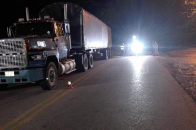 Accidente vial dejó una persona muerta en la vía entre Bucaramanga y San Alberto