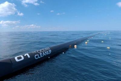 Así planean recoger la basura de los océanos