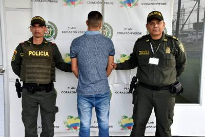 Cayó alias 'Shagy', uno de los más buscados de Santander