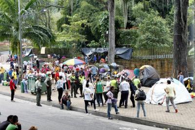 Migrantes del Parque del Agua no serán desalojados