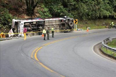 El bus venía de Riosucio, Chocó, con jóvenes de grado 11 que se transportaban a Medellín.