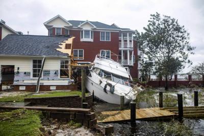 A nueve aumentó la cifra de muertos por huracán Florence en Estados Unidos