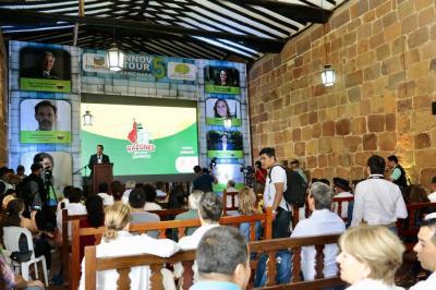 La innovación reunió al turismo en Barichara