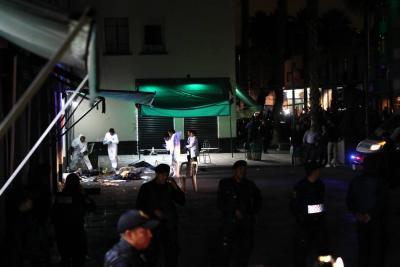 Cinco muertos dejó tiroteo en turística plaza Garibaldi de México