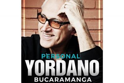 Este jueves, Yordano cantará en el teatro Corfescu de Bucaramanga