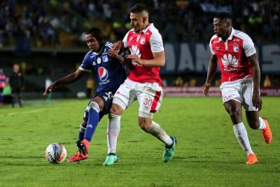 Santa Fe y Millonarios se miden en duelo de Copa Sudamericana