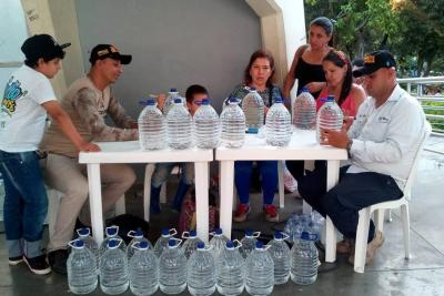 Se extendió el tiempo para recolectar agua