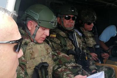 """""""No tenemos el objetivo principal bajo nuestro control"""": general Mejía"""