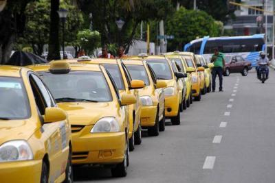 El 'gremio amarillo' fue escuchado por la Policía