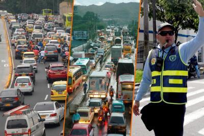 No hay alféreces para tanto caos de vehículos en Bucaramanga y su área metropolitana