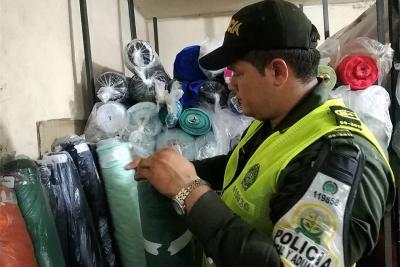 Policía incautó $469 millones en mercancía de contrabando