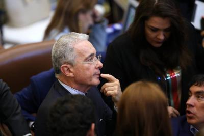 Corte Suprema dice que número de Álvaro Uribe aparecía como de Nilton Córdoba