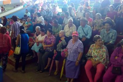 Abuelitos de San Gil asistieron de forma masiva a su Asamblea Mayor
