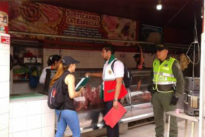 Autoridades cerraron cinco locales por higiene, sanidad y orden público