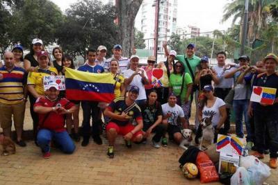 Habrá abrazatón  por los venezolanos