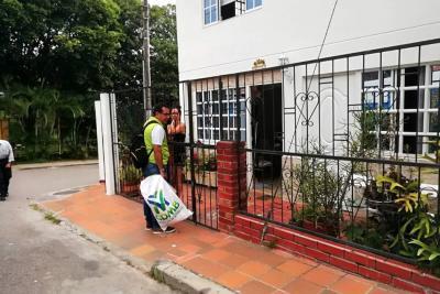 Niza recogió 124 kilos de material reciclable