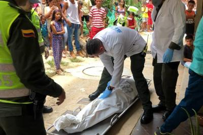 Extraña muerte de una mujer en Bucaramanga